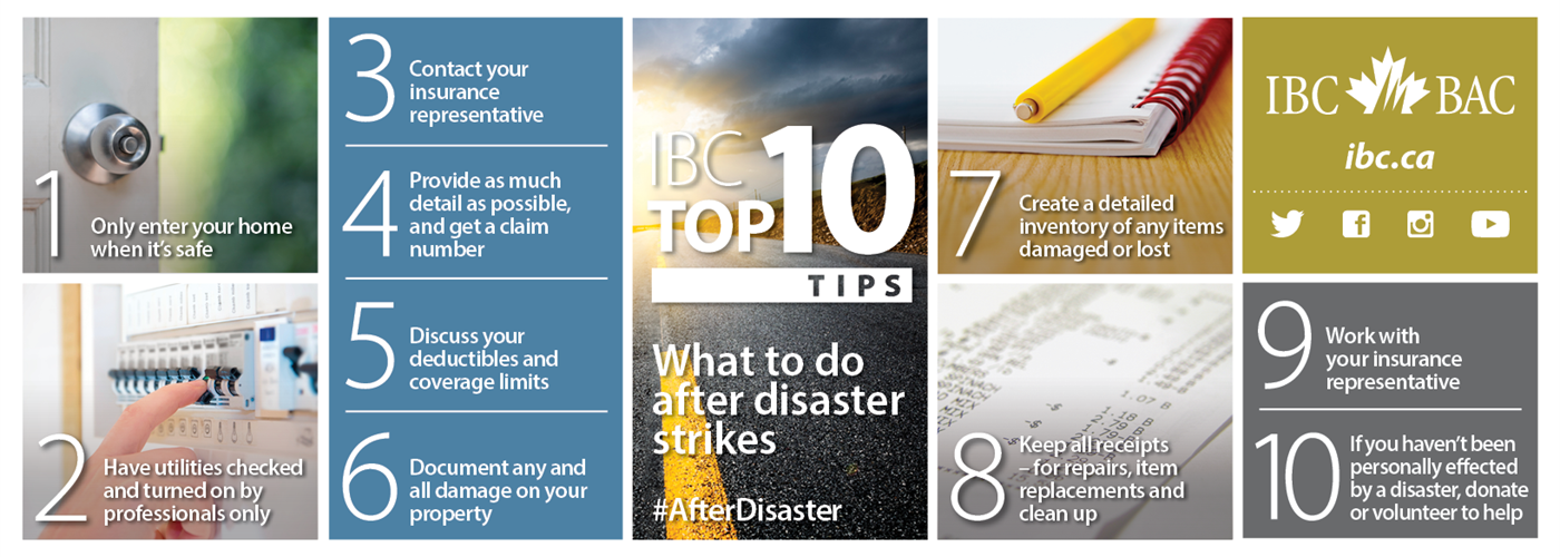 What to Do After Disaster Strikes