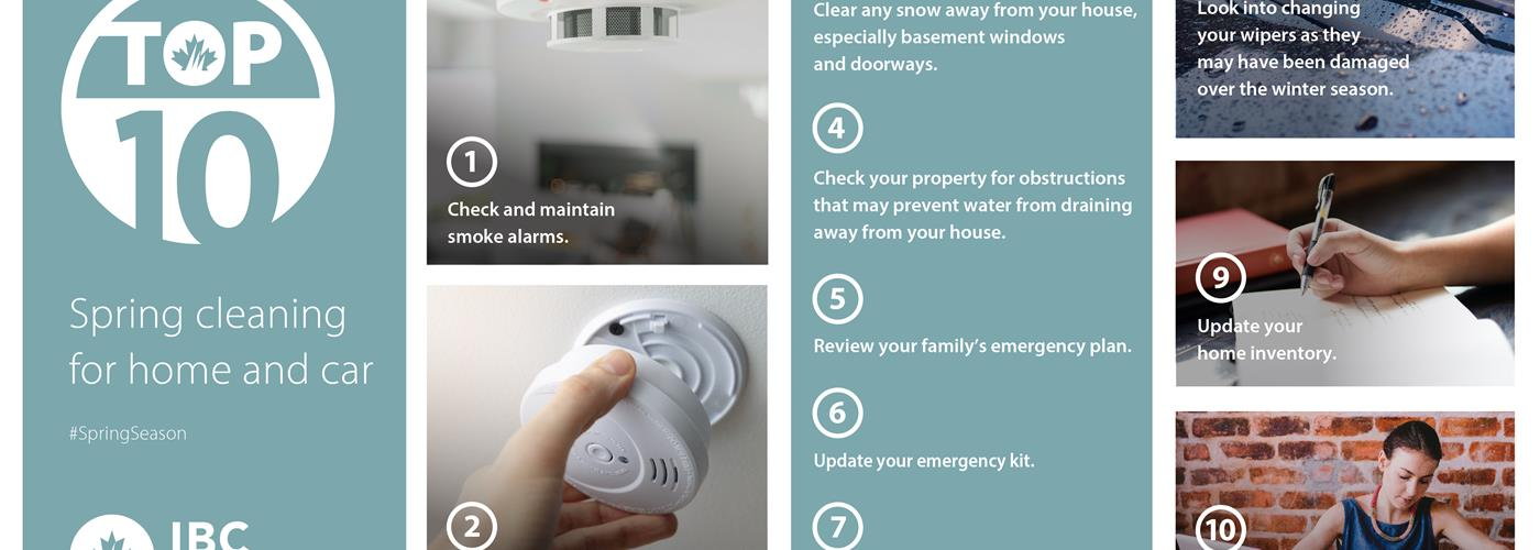 Spring Cleaning for Home and Car