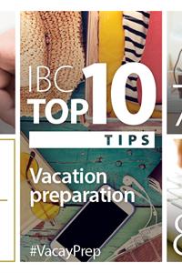 IBC Top 10: Vacation Tips for Protecting Your Home and Car