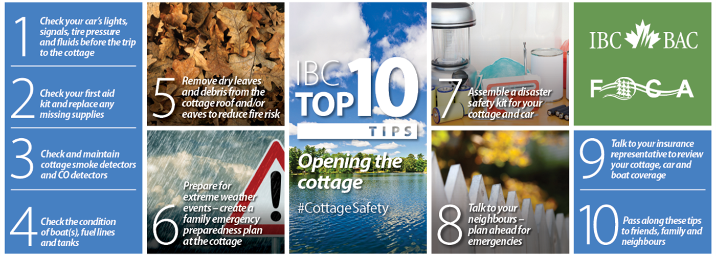 IBC and FOCA Top 10: Tips for Cottage Safety