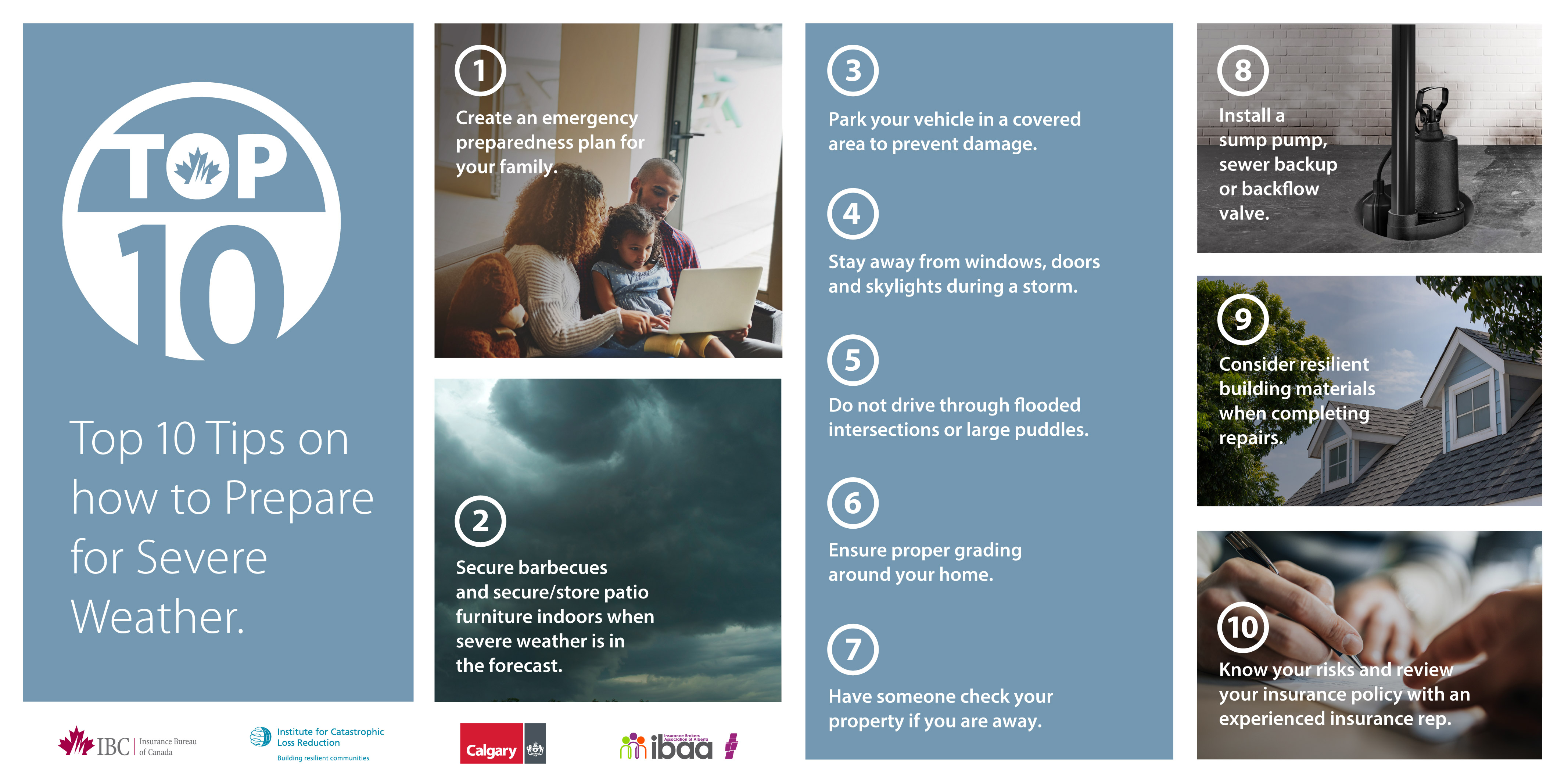 Top 10 Tips - Severe Weather